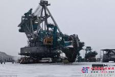 15层楼高的巨型机械 全球最大斗轮挖掘机