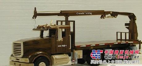 漂亮的手工木制起重机 公鸡论坛