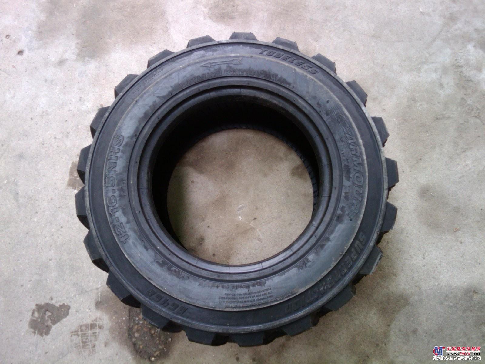 供应山猫 凯斯CASE滑移式装载机轮胎12-16.5
