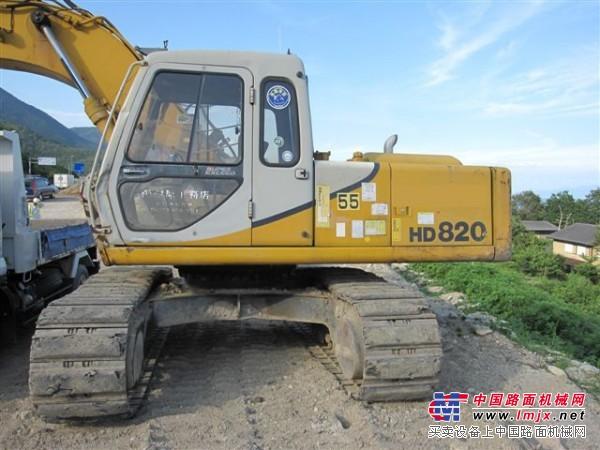 供应二手加藤HD820E 原装日本挖掘机_挖掘机