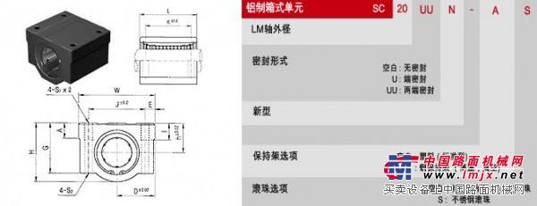 供应SAMICK直线轴承轴承箱 SC 型