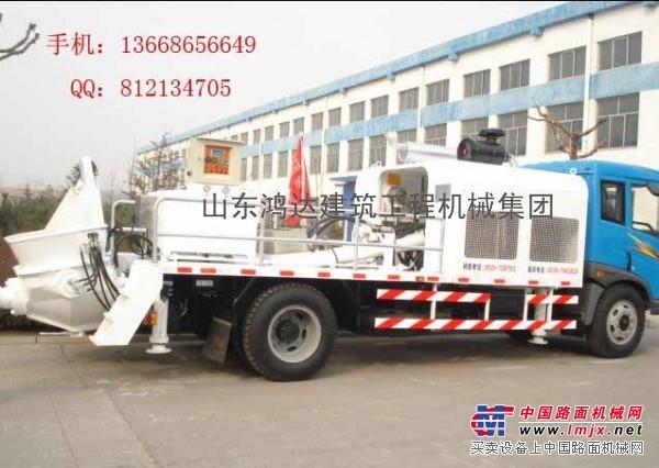 供应车载式混凝土泵