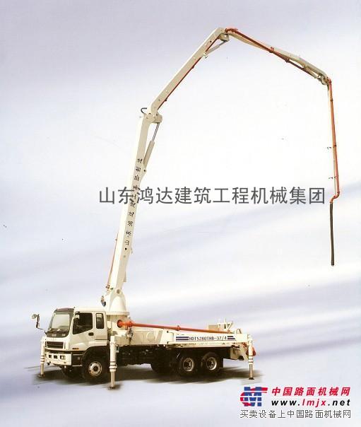 供应山东鸿达新研发24米混凝土臂架泵车