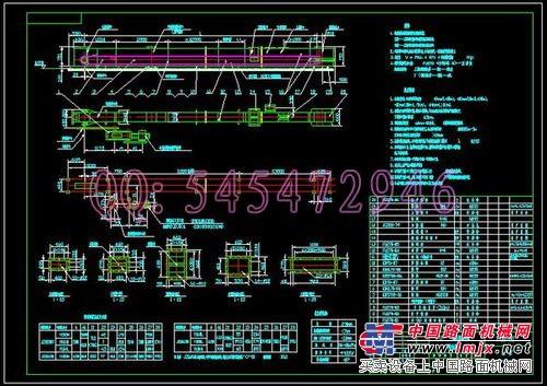 v图纸FU150270350410500链式输送机图纸_其搅拌站水泥罐图纸图片