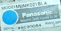 特价供应松下伺服马达MBMK021BLA