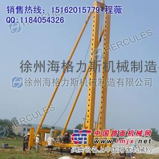 优质挤密桩机河北打桩机黑龙江打桩机河南打桩机9米12米夯扩桩