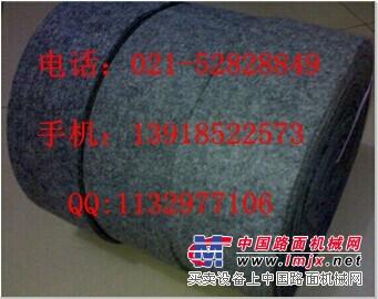 供应耐高温防滑灰色毛毡带