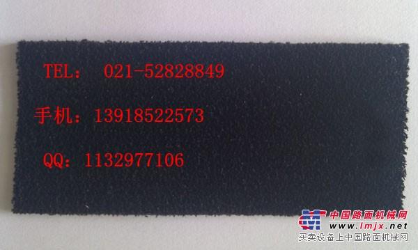 供应拉幅定型机黑短绒糙面带