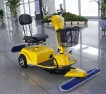 赛尔奇310C电动尘推车 候车大厅用尘推车 驾驶式尘推车