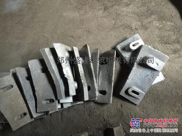 JS混凝土搅拌机衬板搅拌叶片刮板厂家供应