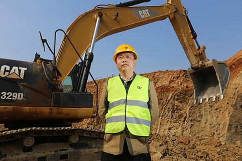 Cat®(卡特)挖机成就黄云龙采石场事业、公益两相宜