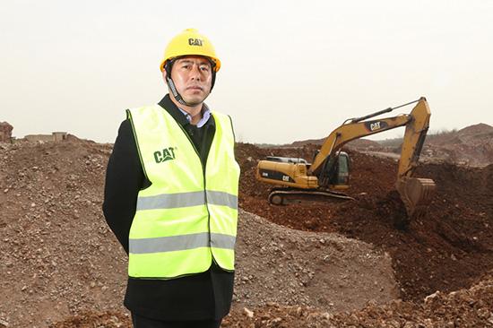 Cat®(卡特)挖掘机携手安徽地矿走过10年