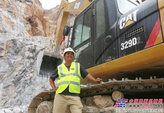 Cat®(卡特)329D2挖掘机使用报告