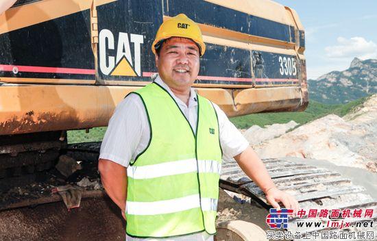 """柴磊的京城局""""器"""":Cat®(卡特)330B挖掘机伴随父子鸿业远图"""