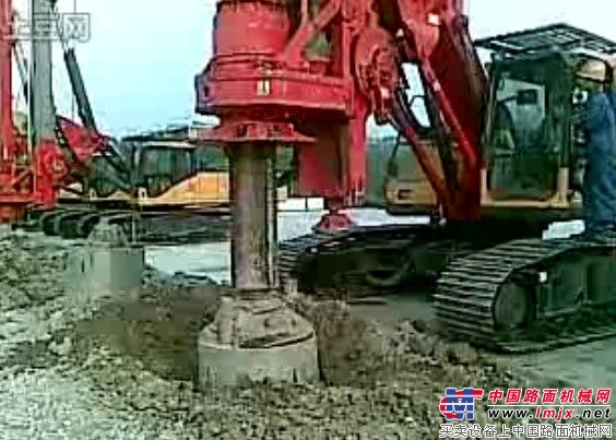 三一旋挖钻机