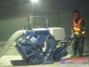 路面抛丸机在青岛海底隧道中的应用