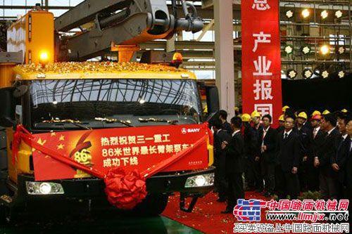 泵车江湖风起云涌  产品升级用户受益