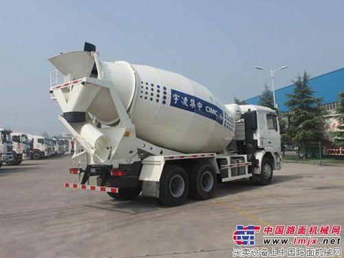 中集凌宇隆重推出2012版经济型搅拌车
