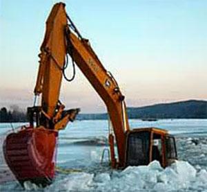 各种挖机工程设备翻车事故惨景