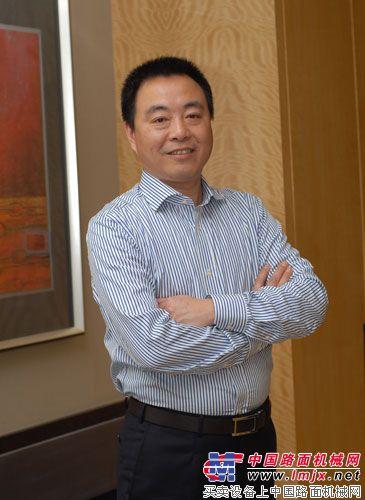 中联重科副总裁、混凝土机械公司总经理陈晓非