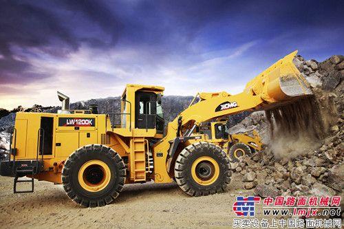 中国最大吨位装载机--徐工LW1200K装载机-徐工LW1200K 中国装载机