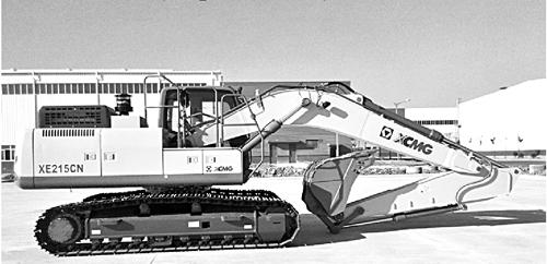 徐工首款LNG挖掘机耀世上台