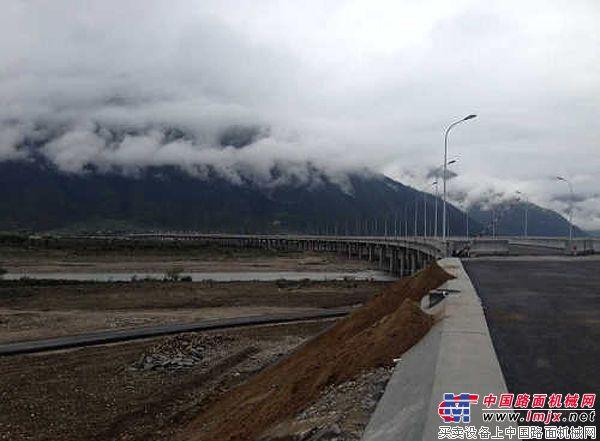 西藏:拉林高等级公路开工路段预计7月底通车