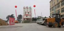 广东百位客户观摩三一A8砂浆大师现场施工