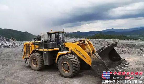 中国最大装载机柳工CLG8128H 1000小时使用报告
