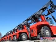 卡尔玛交付史上最大正面吊订单至南非