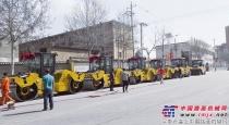 徐工6台压路机助力青海交通建设