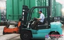 潍柴助力宝骊叉车 为轨道交通建设添动力