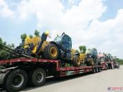 徐工伸缩臂叉装载机支援古巴经济建设