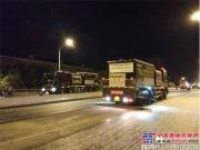 美通筑机沥青纤维碎石同步封层车进军北京