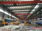 厦工楚胜打造国内一流的铝合金油罐车生产线