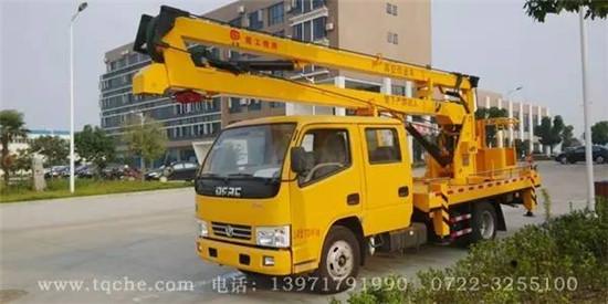 国五东风14高空作业车 楚胜牌CSC5060JGK14V型高空作业车