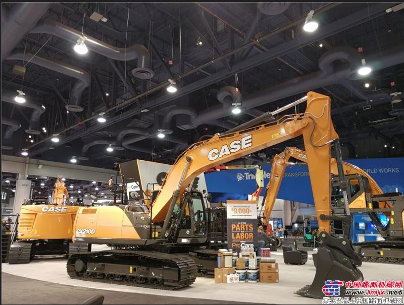 凯斯CX210D挖掘机