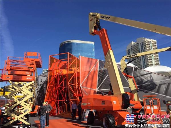 JLG将重塑M系列为H系列混合动力系列产品线,并发布新款H800AJ