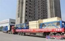 亚龙筑机WBC800型稳定土厂拌设备助力巴基斯坦高速公路M5项目建设