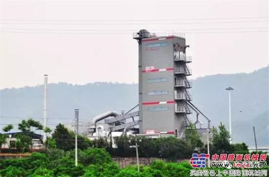 中交西筑SG4000在浙江顺畅养护公司衢州基地顺利完成安装