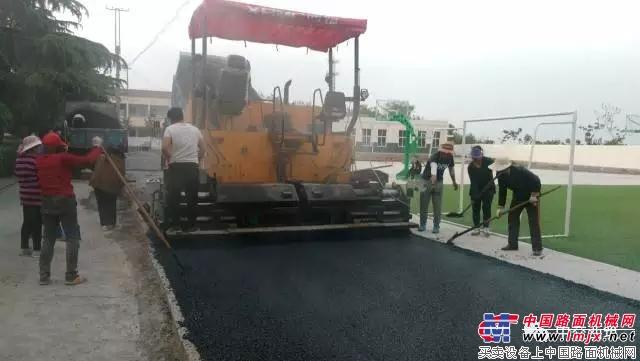 中交西筑LTD600C助力河南公路建设