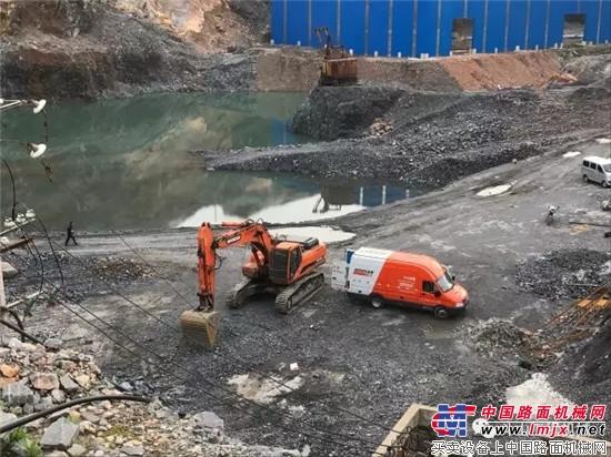 走心服务 | 斗山综合检测车夏季大放送