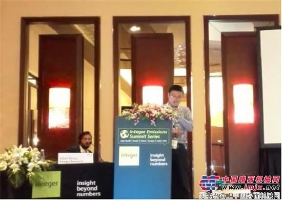 TE Connectivity亮相第十届中国发动机排放高峰论坛