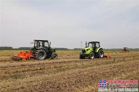"""李伟国调研""""三夏""""农机化工作"""