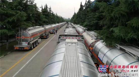 齐鲁大地再掀凌宇风,危化品运输行业今年大批量交付!