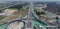 徐工高空作业车持续发力,推动郑州107辅道快速路提前通车。