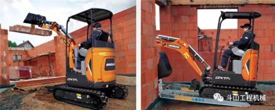 小设备大未来 | 斗山超Mini型挖掘机DX17z重磅来袭!