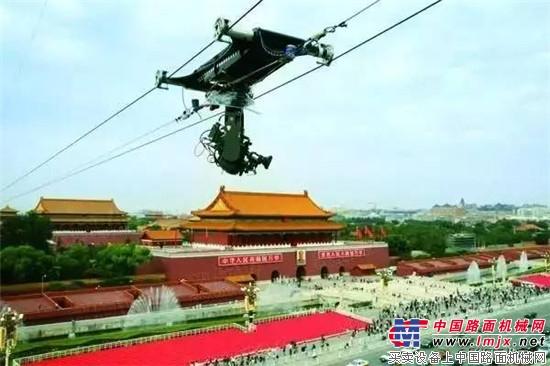 央视拍摄天安门广场,为何派来四台徐工G一代起重机?