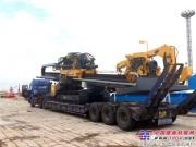 徐工最大吨位水平定向钻XZ6600首次出口印度
