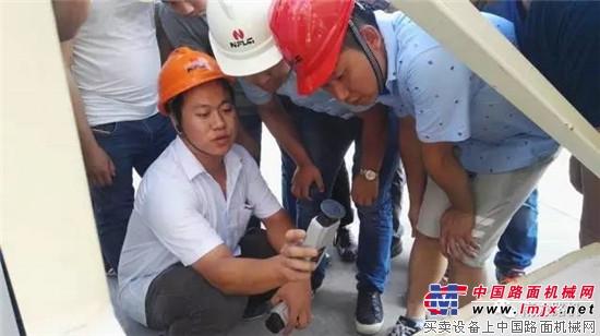 南方路机首期制砂设备调试与服务培训班顺利开班
